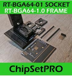 BGA64 RT-BGA64-01 Adapter...
