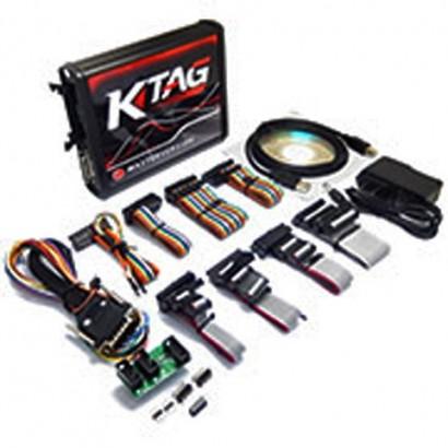 KTAG 7020 V225 Red PCB EURO...
